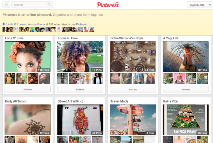 Join Holistic Locs @ Pinterest
