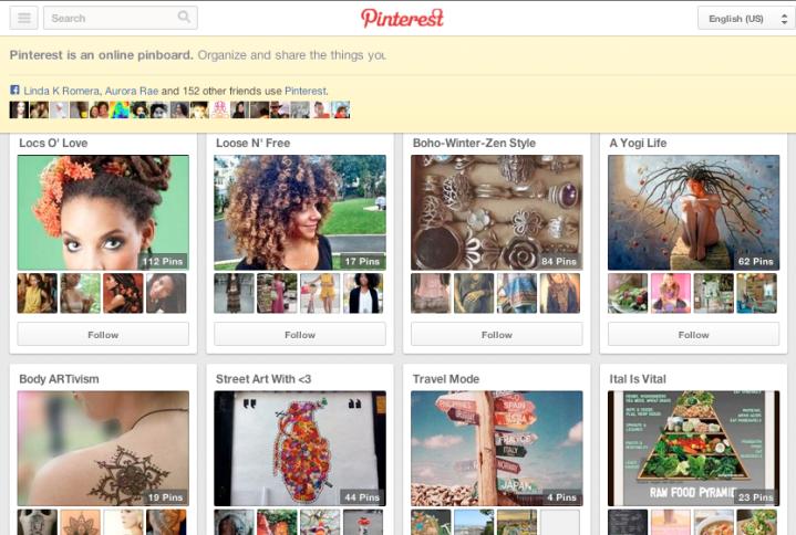 Join Holistic Locs @Pinterest
