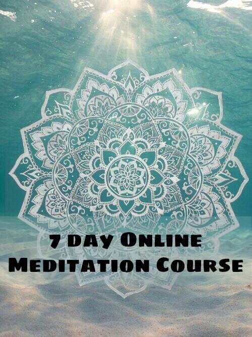 Online Course: 7 Day MeditationProgram