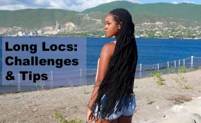 Growing Long Locs: 5 Challenges & Loc Care Tips